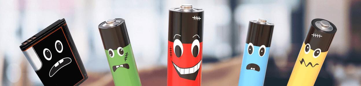 Batterien im Headerbild